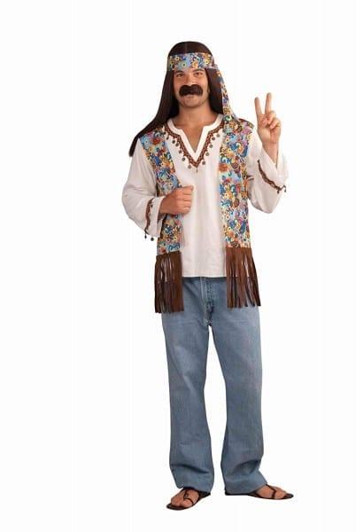 Amazon Com  Forum Novelties Men's Groovy Hippie Costume Shirt And