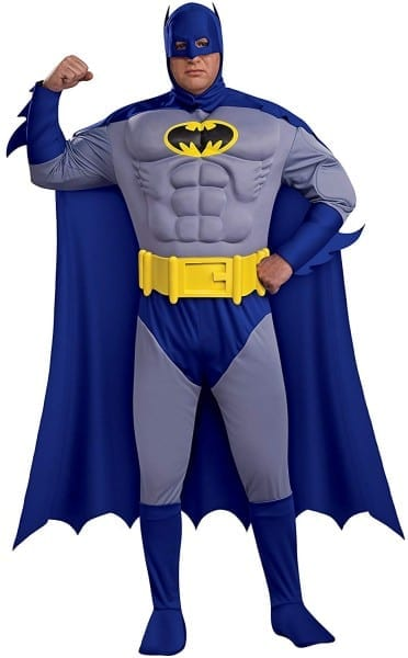 Amazon Com  Rubie's Batman  The Bold And The Brave Muscle Chest