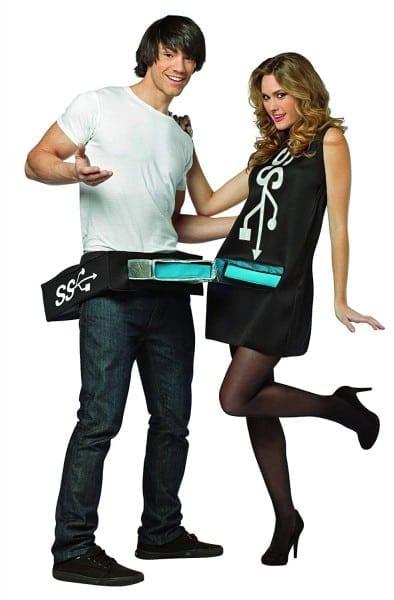 Amazon Com  Rasta Imposta Usb Port And Stick Couples Costume