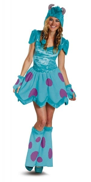 Monsters Inc  Sassy Sulley Adult Costume  Amazon Co Uk  Toys & Games