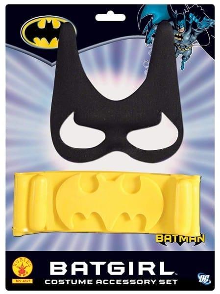 Amazon Com  Batgirl Child's Costume Accessory Set  Toys & Games