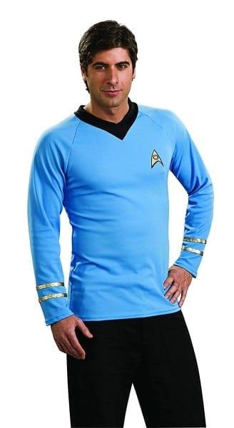 Amazon Com  Rubie's Star Trek Classic Deluxe Spock Shirt  Clothing