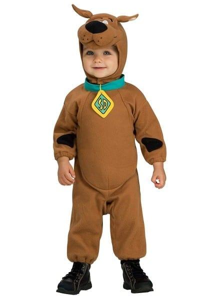 Amazon Com  Little Boys' Deluxe Scooby Doo Costume