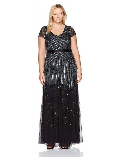 1920s Plus Size Flapper Dresses, Gatsby Dresses, Flapper Costumes