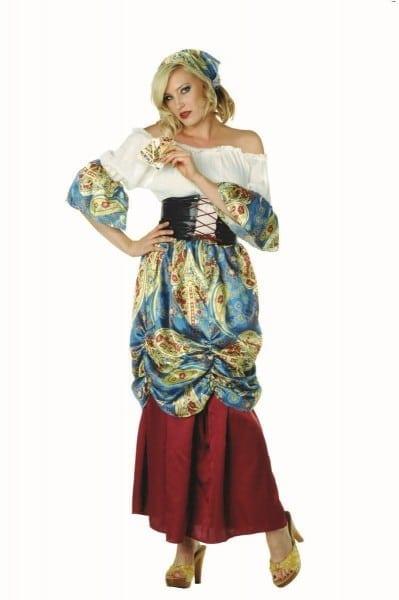 Sexy Renaissance Esmerelda Gypsy Plus Size Costume 86347