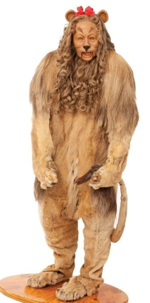 Cowardly Lion Costume Made For Bert Lahr In  The Wizard Of Oz