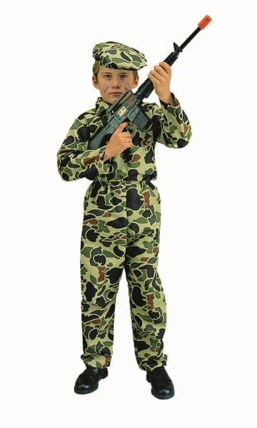 Buy Army, Navy, & Air Force Military Costumes For Kids And