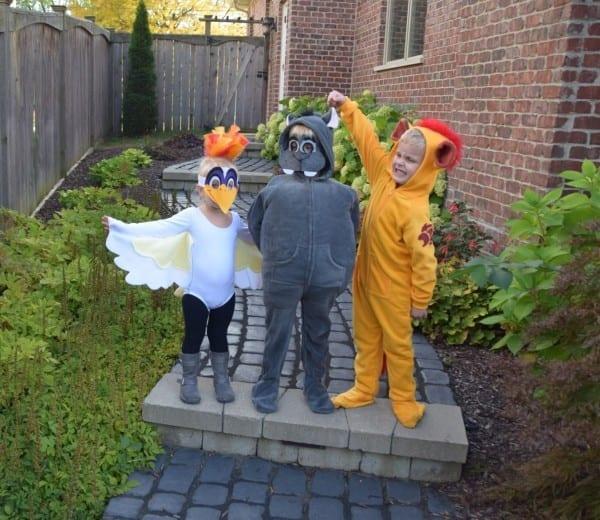 Diy Lion Guard Costume