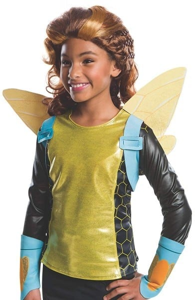 Amazon Com  Rubie's Costume Girls Dc Super Hero Bumblebee Wig