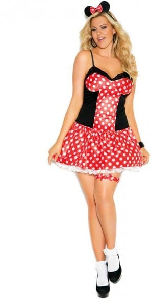 Miss Mouse Plus Size Costume By Elegant Moments Women 3x  4x