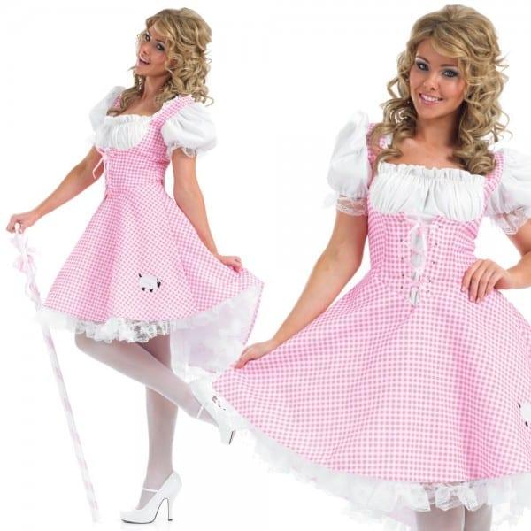 Adult Book Week Costume Bo Peep Miss Muffet Goldilocks Outfit