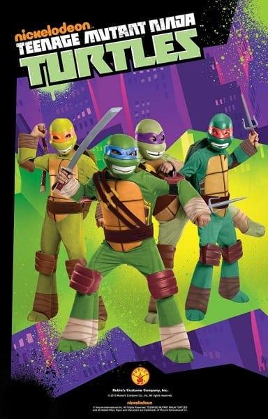 Amazon Com  Teenage Mutant Ninja Turtles Leonardo Costume, Small