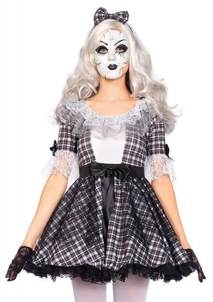 Amazon Com  Leg Avenue Women's Pretty Porcelain Doll  Clothing