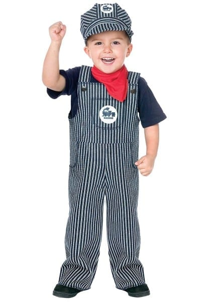 Amazon Com  Fun World Costumes Baby's Train Engineer Toddler