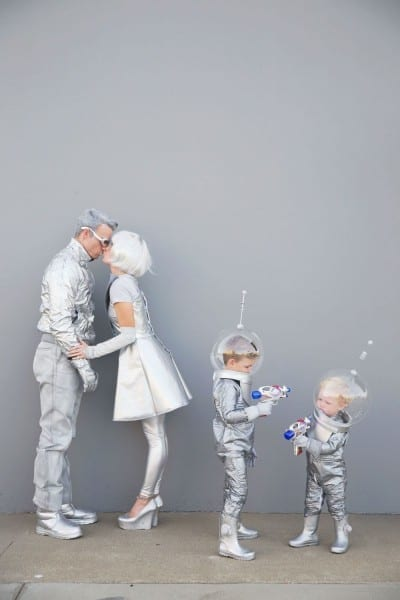 Diy Space Family Costumes