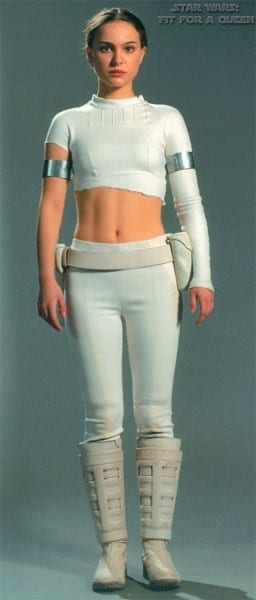 Padme White Outfit Episode 2