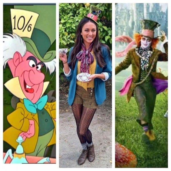 Alice In Wonderland's Mad Hatter  Diy Halloween Costume