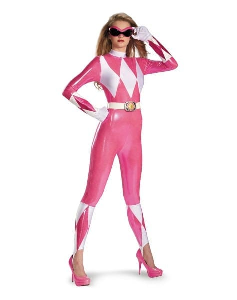 Power Rangers Pink Ranger Sassy Adult Women's Costume At Spirit