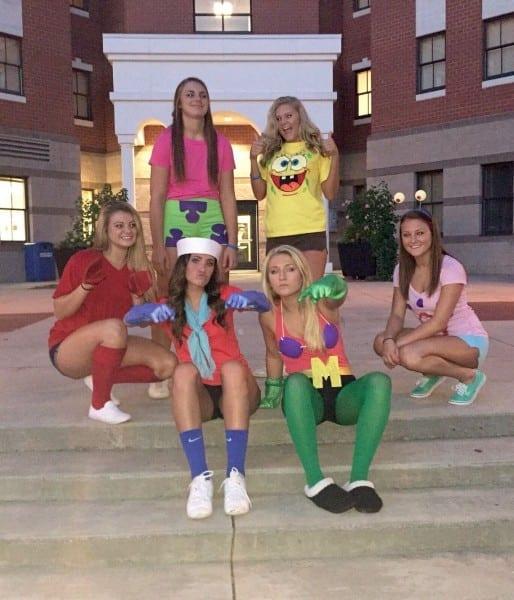 Characters From Spongebob Squarepants! Mr  Krabs, Pearl, Ms  Puff