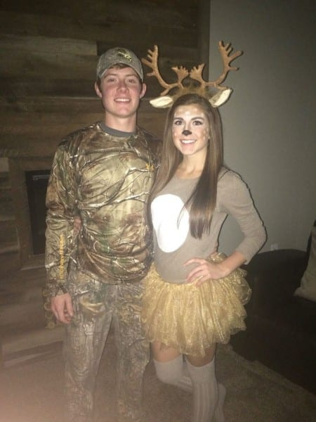 Couples Halloween Costume Idea  Deer And Hunter