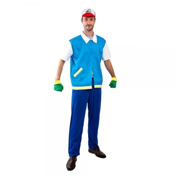 Adult Ash Ketchum Costume