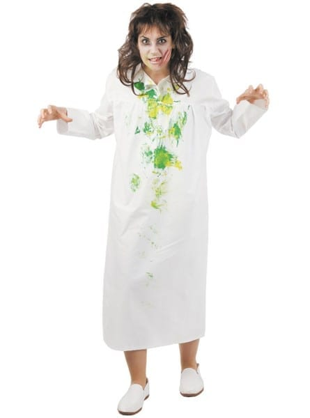 Adults Girl From The Exorcist Costume  Fast Delivery