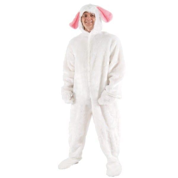 Adults Mens Rabbit Animal Fancy Dress Up Costume