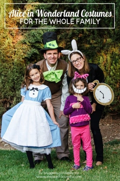 Alice In Wonderland Costumes – For The Whole Family! – Make It And