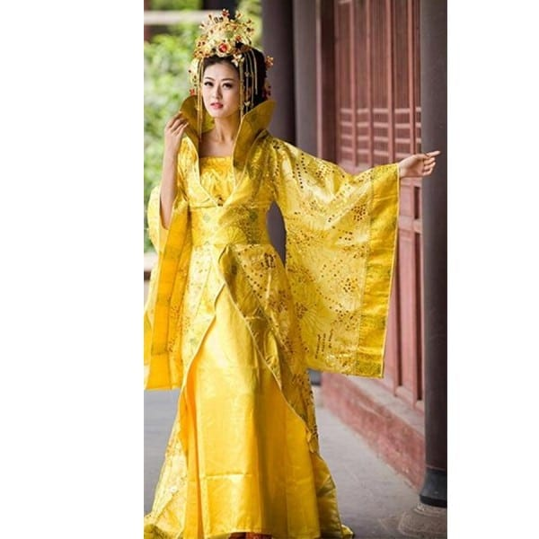 Ancient Chinese Costume Colorful Formal Han Fu Princess Fairy