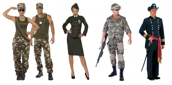 Homemade Military Costume Ideas