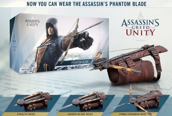 Assassins Creed 5 Unity Hidden Blade Action Figure Edward Kenway