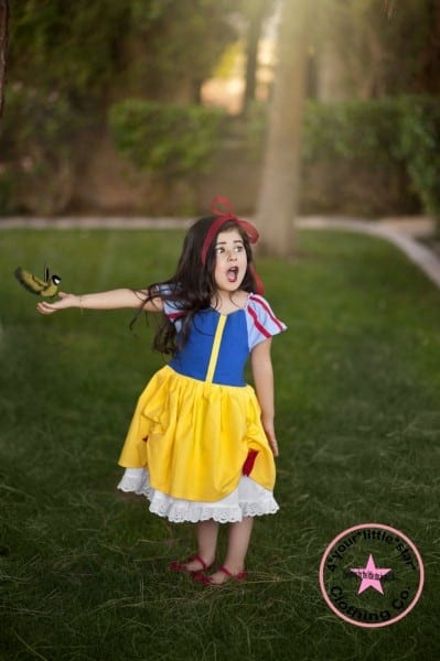 Disney Inspired Snow White Princess Dress For Infants, Toddlers