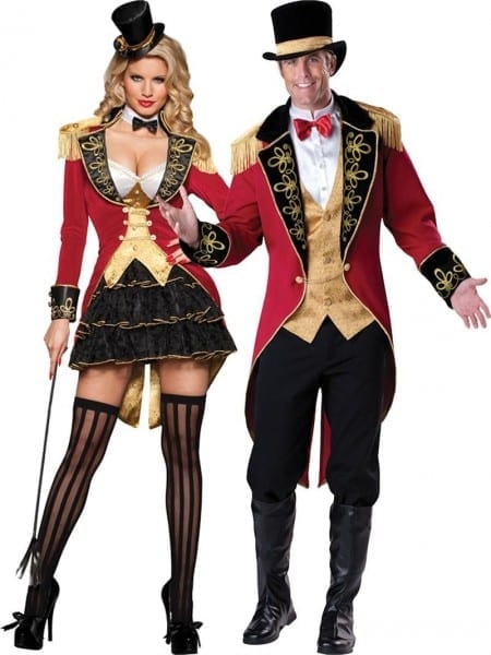 Ringmaster Couples Costume,  Halloweencostumescouples Available At