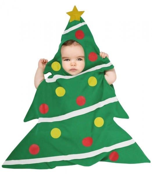 Christmas Tree Costumes (for Men, Women, Kids)