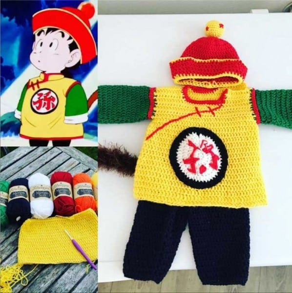 Baby Gohan Clothes Beautiful Costume Patterns Free Costume Diys â