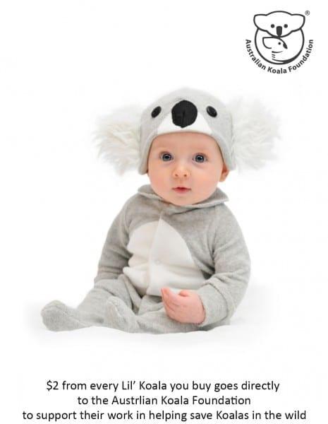 Cute Baby Koala Costumes