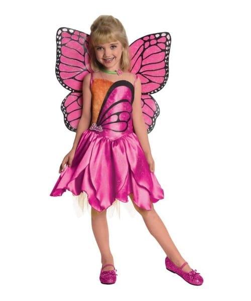 Barbie Mariposa Toddler Kids Costume