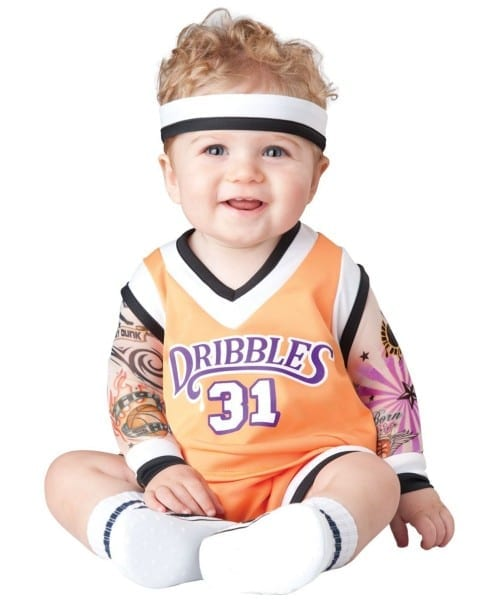 Double Dribble Basketball Baby Costume