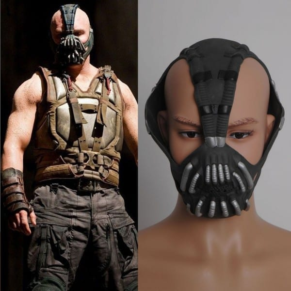 Batman Dark Knight Rises Bane Mask Replica Cospaly Costume  One