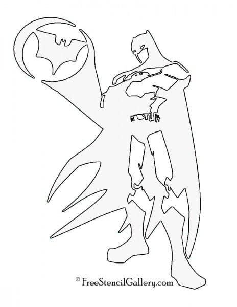 Batman Stencil Free Gallery Pumpkin Carving Patterns Printable Tem