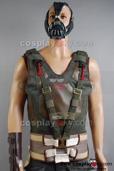 Batman The Dark Knight Rises Bane Tactical Vest For Costume