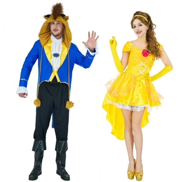 Movie Beauty And The Beast Costume Adults Women Sassy Belle