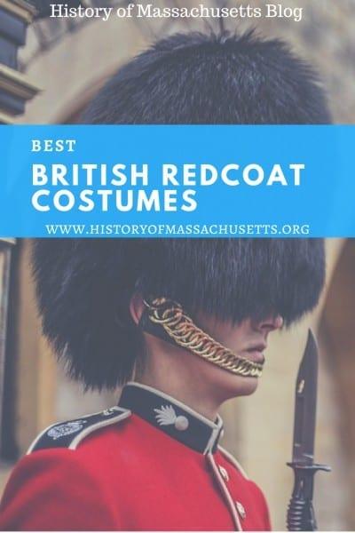 Best British Redcoat Costumes – History Of Massachusetts Blog
