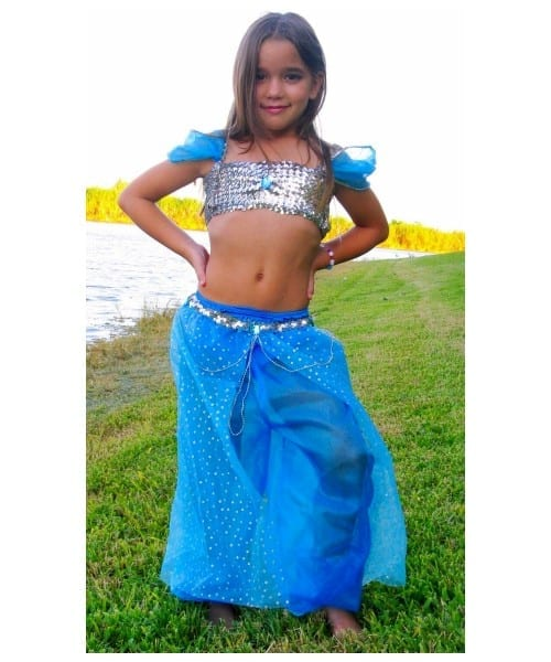 Blue Magic Genie Kids Costume