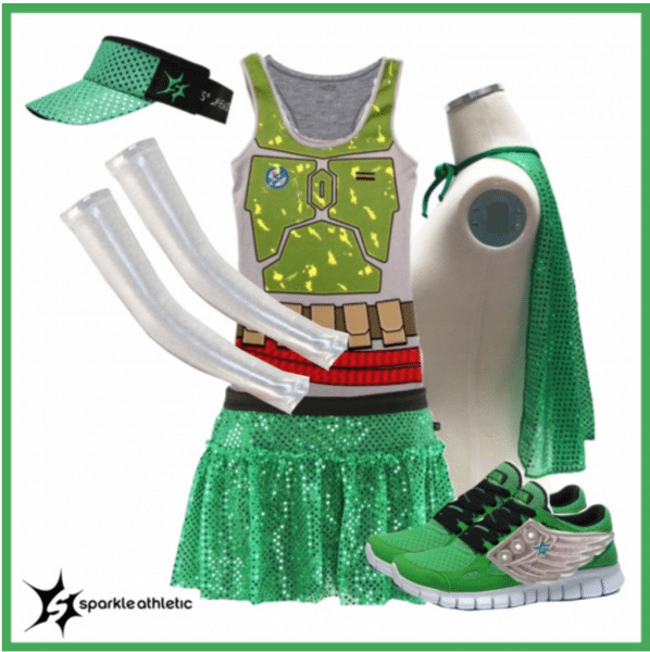 Sparkle Athletic  Dark Side  Inspired Running Costume Guide
