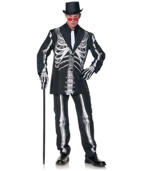 Adult Bone Daddy Plus Size Costume