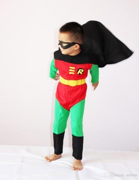 Boy Robin Costume Halloween Costume For Kids Robin Muscle Cosplay