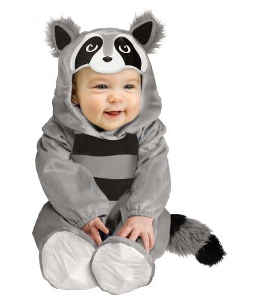 Baby Boy Raccoon Costume