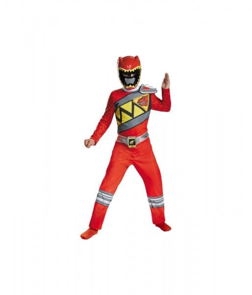 Power Rangers Dino Charge Red Ranger Boys Costume