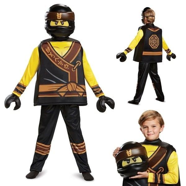 Shop Boys Ninjago Cole Movie Deluxe Halloween Costume